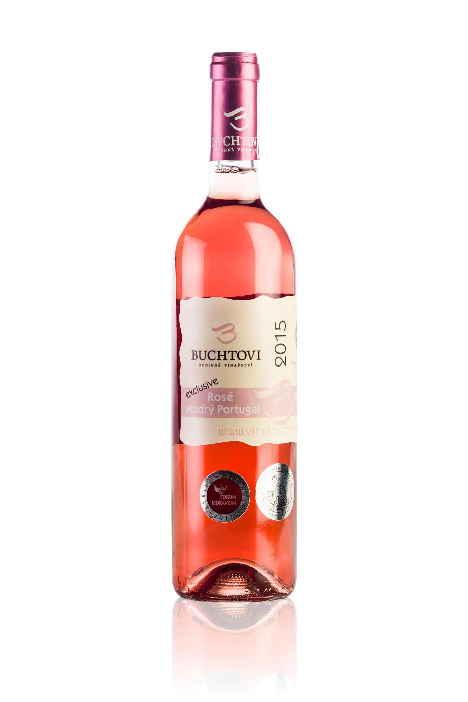 produkt_Modrý Portugal Rosé Exclusive r. 2015