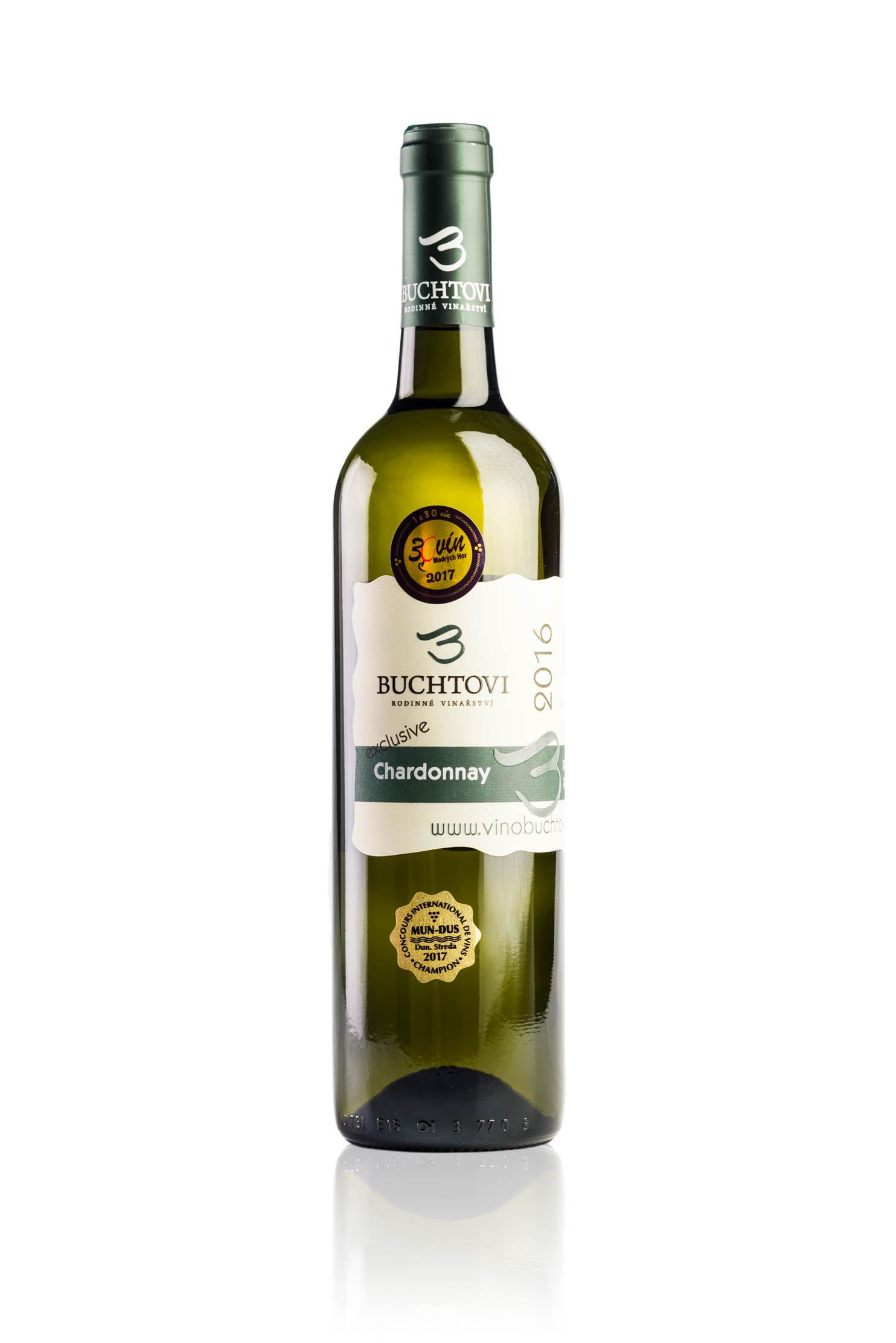produkt_Chardonnay pozdní sběr Exclusive r. 2016