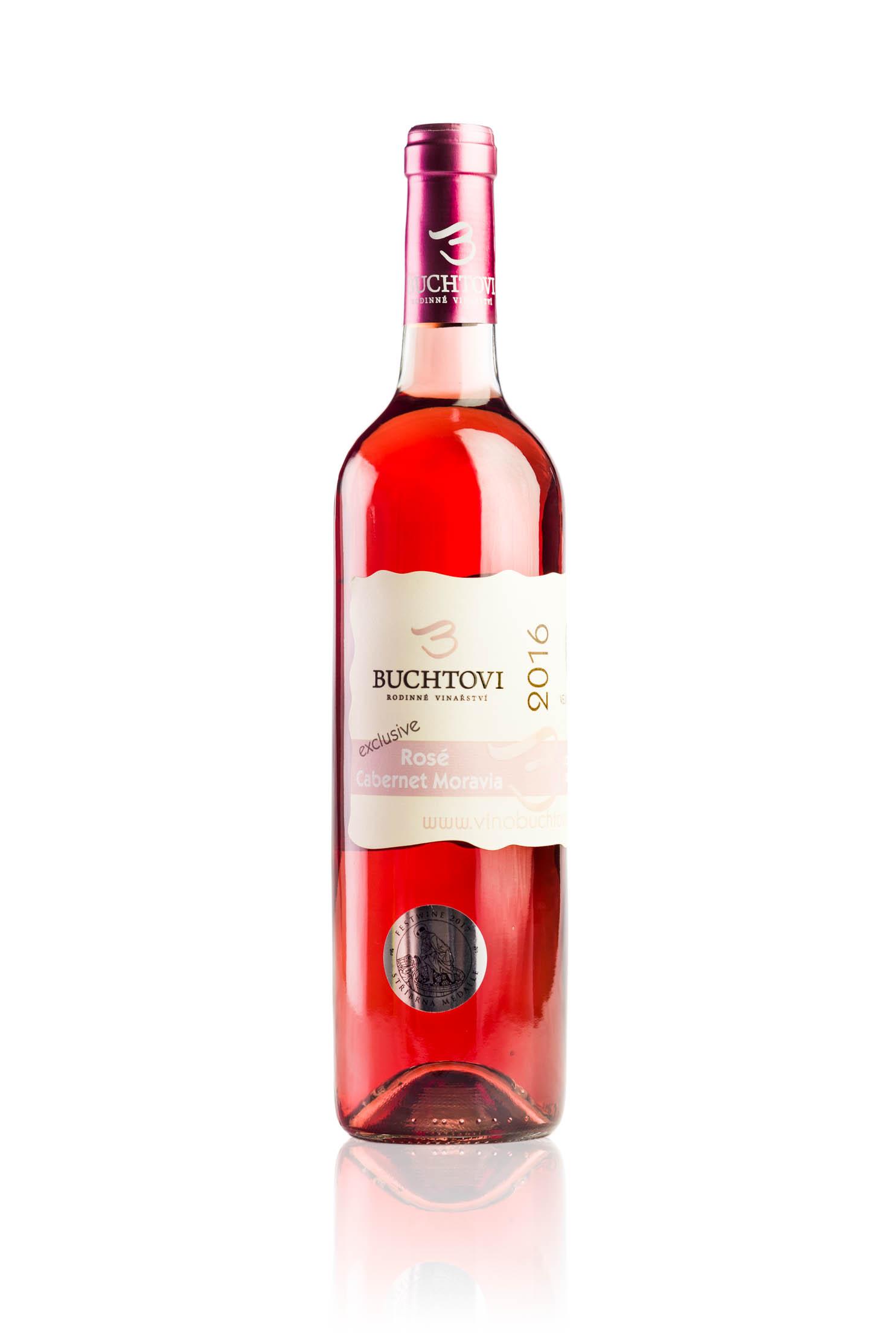 produkt_Cabernet Moravia Rosé Exclusive r. 2016
